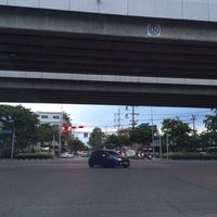 Photo taken at Srinagarindra-Lasalle Intersection by Khun V. on 7/19/2016