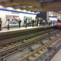 Photo taken at Metro Grecia by Alfonso M. on 2/25/2013