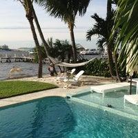 Photo taken at Lantana Beach by Chris H. on 2/16/2013
