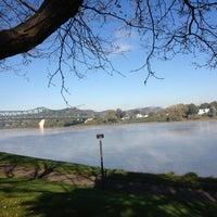 Photo taken at Harris Riverfront Park by Amy K. on 10/11/2012