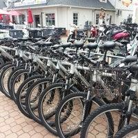 Photo taken at Aldo's Bike Rental by Dana P. on 5/26/2013