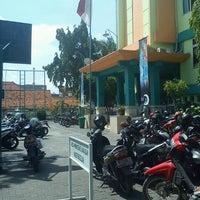 Photo taken at SMA Muhammadiyah 2 Surabaya by George T. on 12/11/2012