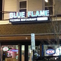 Photo taken at Blue Flame Pizzeria & Restaurant by Michael C. on 12/5/2012