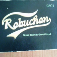 Photo taken at Robuchon by Yohanes Bonny Alanuary Mahatma Rendra on 1/12/2013