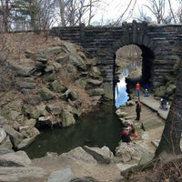 Photo taken at Central Park - The Pool by Nicole F. on 3/30/2013