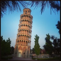 Photo taken at Leaning Tower Of Niles by Dulce B. on 5/19/2013