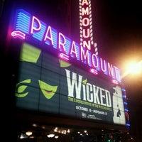 Photo prise au Paramount Theatre par Gabriel C. le11/12/2012