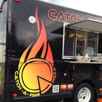 Photo taken at Catch-a-fire Pizza by Rich R. on 6/13/2013