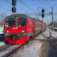 Photo taken at Ж/д станция Гжель by serg5raz on 2/25/2013