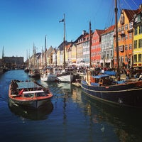 Photo taken at Nyhavnsbroen by Natalia G. on 5/3/2013