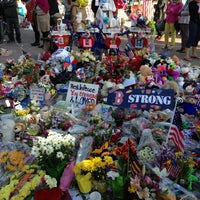 Photo taken at Copley Square by Catherine G. on 5/4/2013