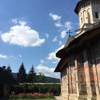 Photo taken at Biserica Mânăstirii Moldovița by Said A. on 9/4/2016