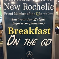 Photo taken at Mercedes-Benz of New Rochelle by Meghan H. on 5/9/2014