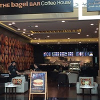 Photo taken at The Bagel Bar by Abdullah A. on 9/1/2015