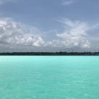 Photo taken at Bacalar by Fernando D. on 6/25/2017