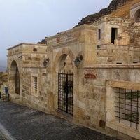 Photo taken at Kayakapi Premium Caves - Cappadocia by Bekir A. on 9/21/2013