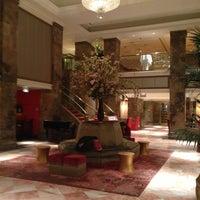 Photo taken at The Michelangelo Hotel by Oksana B. on 5/11/2013