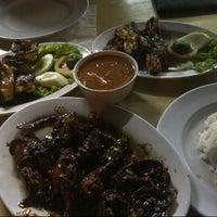 """Photo taken at Santiga Seafood """"Abeng"""" Benhil by Nha T. on 4/22/2013"""