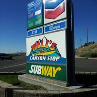 Photo taken at Will's Canyon Stop by Jacob B. on 10/18/2012
