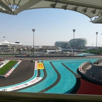 Photo taken at Yas Marina Circuit by Stuart G. on 11/2/2012