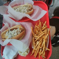 Photo taken at Jack's Cosmic Dogs by Alfredo S. on 6/23/2013