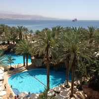 Photo taken at Royal Beach Eilat by Yana C. on 3/26/2013