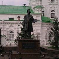 Photo taken at Памятник В.И. Сурикову by Eley N. on 9/20/2012