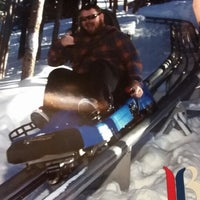 Photo taken at Gold Runner Alpine Coaster by James F. on 1/23/2015