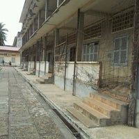 Photo taken at Tuol Sleng Genocide Museum by Jeskia L. on 1/6/2013