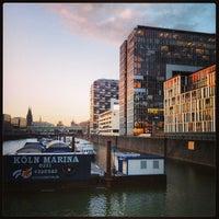 Photo taken at Köln Marina by Mick on 3/15/2013