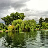 Photo taken at Centennial Park by Michael M. on 7/12/2013