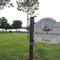 Photo taken at Henry Hudson Waterfront Park by Christopher B. on 6/28/2014