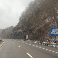 Photo taken at North Carolina / Tennessee State Line by Gail R. on 3/2/2013