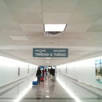 Photo taken at Piarco International Airport (POS) by Bradley W. on 1/13/2013