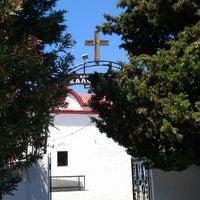 Photo taken at ΙΕΡΑ ΜΟΝΗ ΚΑΛΟΠΕΤΡΑ by Yuri V. on 8/6/2013