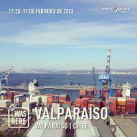 Photo taken at Paseo 21 de Mayo by Felipe R. on 2/11/2013