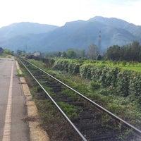 Photo taken at Stazione Barga-Gallicano by Nico WINTERMUTE T. on 10/20/2012
