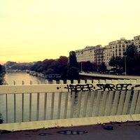 Photo taken at Pont de Puteaux by David B. on 10/16/2013