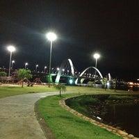 Photo taken at Orla da Ponte JK by Luis A. on 3/20/2013