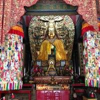 Photo taken at Yonghegong Lama Temple by Duška S. on 5/26/2013