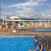 Снимок сделан в Пляж Олимпийского парка пользователем Evgeniy R. 7/22/2017