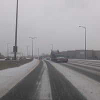 Photo taken at QEW & 403 & 407 by Maria Camila P. on 1/2/2014