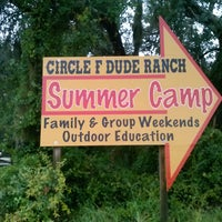 Photo taken at Circle F Dude Ranch by Alex T. on 6/29/2013