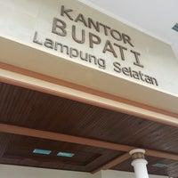 Photo taken at Kantor Bupati Lampung Selatan by Harry Hanawi on 12/12/2012