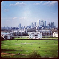 Photo taken at Greenwich Park by Grzegorz W. on 4/28/2013