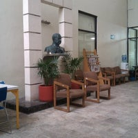 Photo taken at UADY (Edificio Central) by Juan B. on 1/19/2013