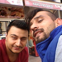Photo taken at Namlı Pastanesi by Özcan Ç. on 9/16/2016