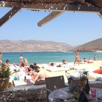 Photo taken at Panormos Beach by Marina T. on 7/17/2013