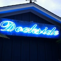 Photo taken at Dockside Restaurant & Bar by B. D. on 10/8/2012