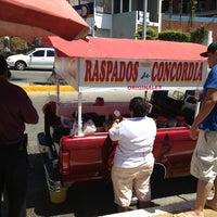 Photo taken at Raspados De Concordia by Rene S. on 4/4/2013